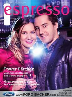 ford bacher ingolstadt espresso magazin november 2014 by espresso magazin issuu