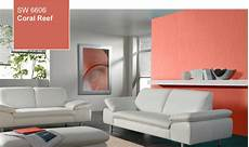 color of the year coral reef sw 6606 by sherwin williams