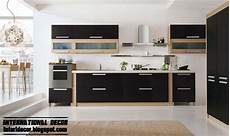 Kitchen Furniture Designs Interior Design 2014 Modern Black Kitchen Designs Ideas