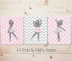 rosa grau ballerina kinderzimmer kunst kinderzimmer