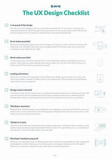 Design Checklist by The Ux Design Checklist Ryte Medium