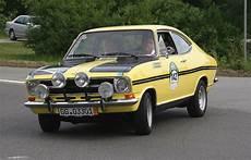 Opel Kadett B Coup 233 Rallye Foto Bild Sport Motorsport