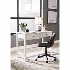 ashley furniture home office desks signature design by ashley othello white finish home