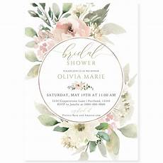 Discount Wedding Shower Invitations