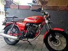 Gl 100 Modif Cb by Tiger Modifikasi Gl 100 Cb Indonesia