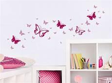 Wandtattoo Zweifarbiges Schmetterlinge Set Wandtattoo De