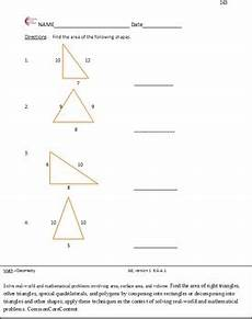 geometry worksheets for 6th grade 717 geometry sixth grade common math worksheets all standards