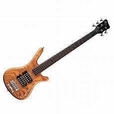 Warwick Rockbass Corvette 5 String Bass Guitar Honey