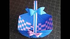 easter basket how to make a paper basket diy paper