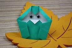 Origami Eulen Basteln Einfache Anleitung F 252 R Kinder