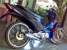 Supra X 125 Modif Touring by Modifikasi Mesin Supra X 125 Touring Thecitycyclist