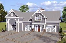house plans with rv storage craftsman style 3 car garage apartment plan number 74841