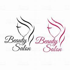 beautiful face logo template for hair salon logo hair tem stock vector art more images