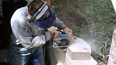 nasse wand trocknen cutting retaining wall cap block doovi