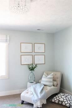 craft room makeover with new light healing aloe benjamin