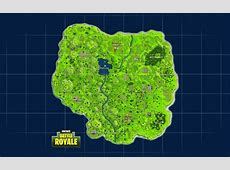 Fortnite Battle Royale Full Map Desktop Background
