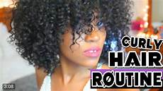 my curly hair routine youtube