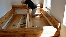 Lattenrost Selber Bauen - balkenbett bett selber bauen made by myself dein diy