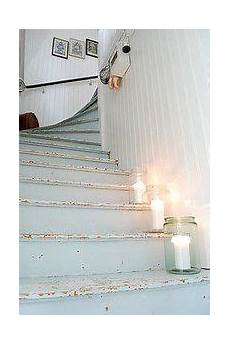 Shabby Chic Stairs Painted Stairs House Stairs Stairs