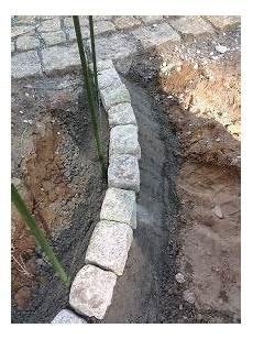 Beetabgrenzung Bzw Rasenkante Aus Granit Selbst Bauen