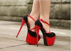club plateau peep toes high heels pumps mit