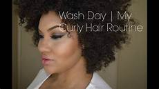 wash day my curly hair routine for natural hair youtube