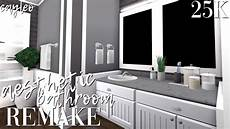 Bathroom Ideas Bloxburg by Aesthetic Bathroom Remake Bloxburg
