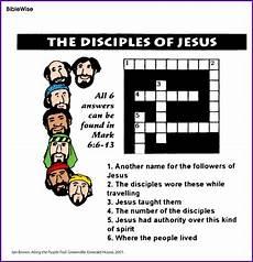 the disciples of jesus crossword puzzle kids korner biblewise bible lessons for kids