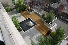 Terrassengestaltung Ideen Modern - modern landscape small gardens design penthouse garden