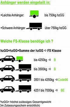 B Führerschein Anhänger - f 252 hrerscheinausbildung plonner