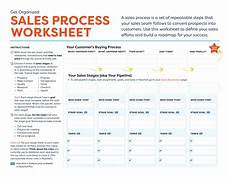 sales process worksheet and template free crm resources