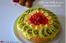crema pasticcera in frigo torta con frutta fresca e crema pasticcera