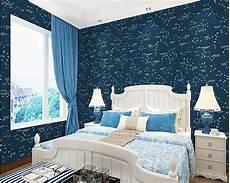 tapete blau schlafzimmer beibehang mediterranean style children s room wallpaper