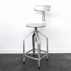 chaise de bar en acier galvanis 233