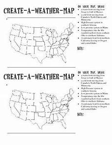 weather map worksheets 6th grade 14617 create a weather map weather science sixth grade science teaching weather