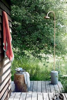 splash out an outdoor shower ideal home