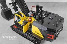 moc fully rc volvo ec950el excavator lego technic and