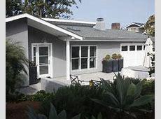 light grey stucco with white windows. no trim   Walgrove