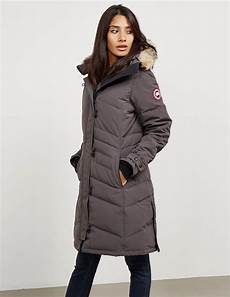 womens canadian goose winter coats lyst canada goose womens lorette padded parka jacket