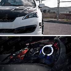 accident recorder 2011 hyundai genesis interior lighting 2010 2011 2012 genesis 2 door coupe black halo led projector headlights headl ebay