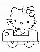 Hello Kitty Coloring Pages  Free Download Best