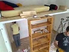 hochbett für erwachsene selber bauen hochbett bauen 2