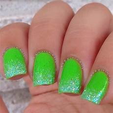 lime green mani green nails prom nails green nail designs
