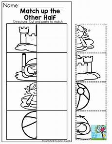 cut and paste subtraction worksheets for kindergarten 10497 summer review packets summer preschool activities summer preschool summer lesson plans
