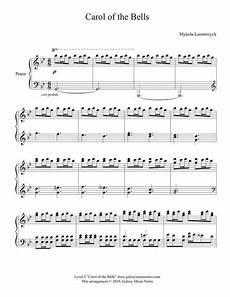 carol of the bells advanced piano solo sheet music