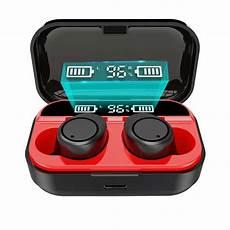 Bakeey Wireless Stereo Digital Display Headphones bakeey x5 tws bluetooth 5 0 wireless stereo sport earphone