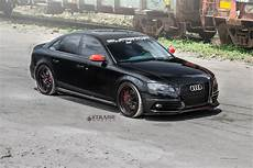 audi s4 never looked so good blacked out and fitted with strasse wheels carid com gallery