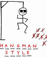 Image result for hangman stages pictures