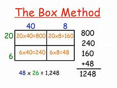 box method division worksheets free 6797 open array multiplication math multiplication and school
