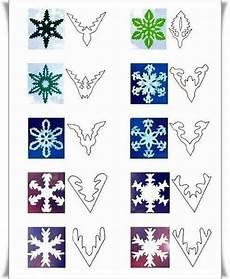 schneeflocken schneiden schneeflocken basteln